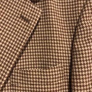 BROOKS BROTHERS Silk & Wool Sport Coat 43 Reg